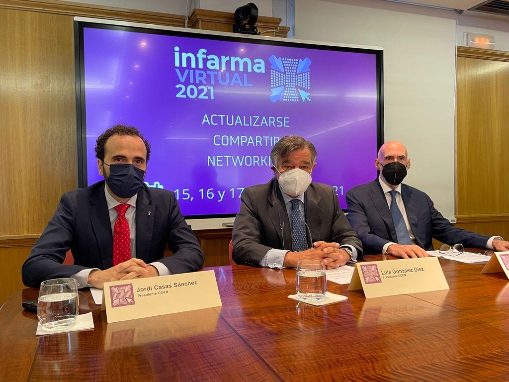 Rueda de prensa de Infarma Virtual 2021
