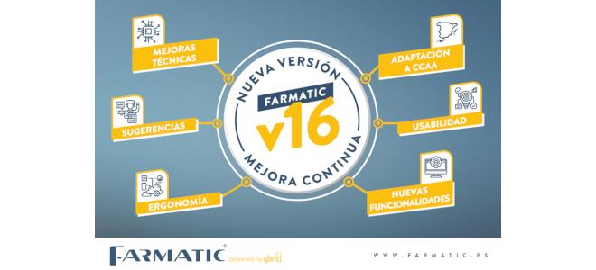 Farmatic v16 nueva versión
