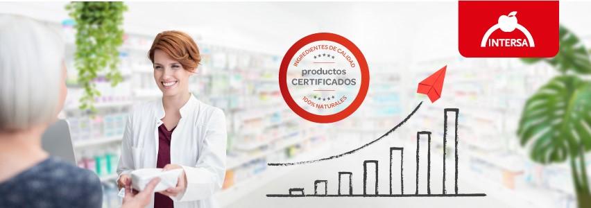Intersa - Productos Certificados, Ingredientes de calidad